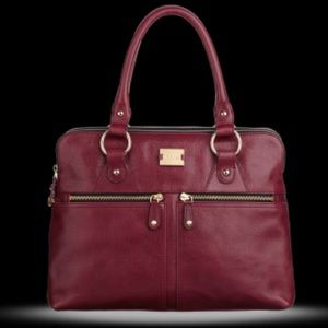 Modalu Pippa Grab Bag in Berry Color